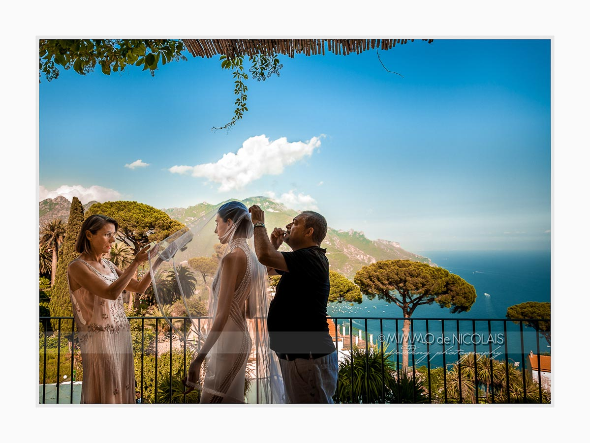 Wedding In Italy Ravello Amalfi Coast Brid S Getting Ready When You Are Thinking To Plan A